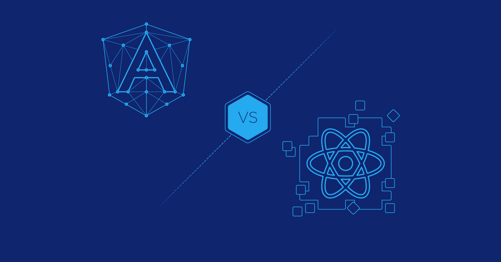 Angular vs  React: The Framework Way or the Library Way