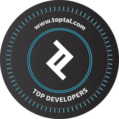 Toptal sticker