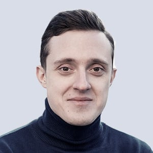 Volodymyr Deviatkin, Lead Interactive Designer for hire