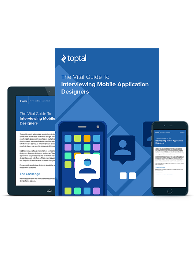 Mobile App Design Interviewing