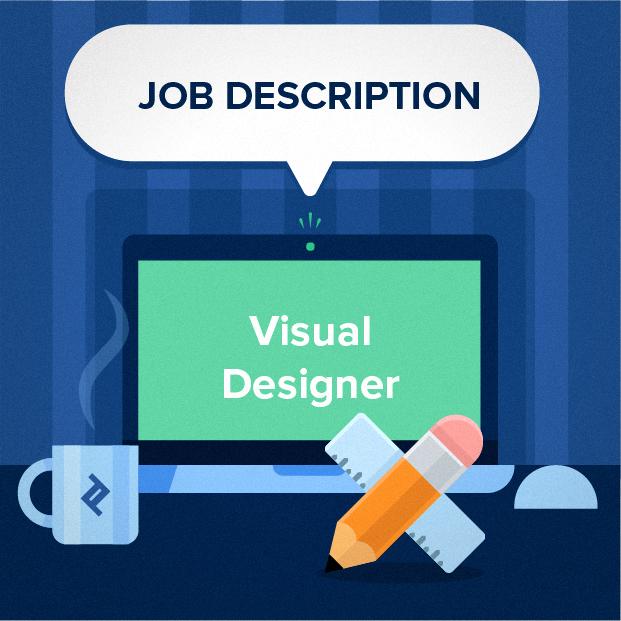 visual designer job description