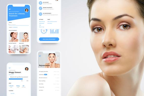 Aesthetic Medicine App (UX/UI)