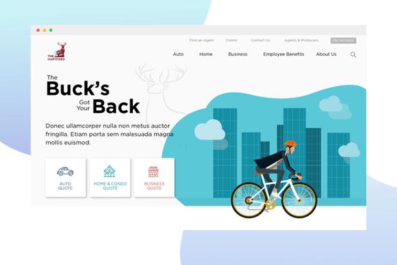 The Hartford Website Redesign