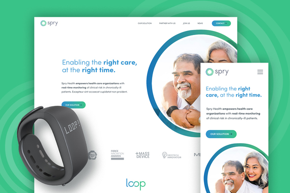 Spry Health - UX - Web Design and WordPress Build