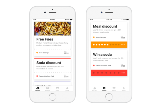 Rewards and Coupons iOS App