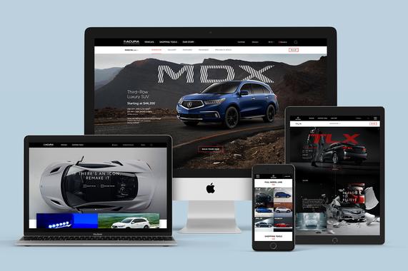 Acura.com | Redesign