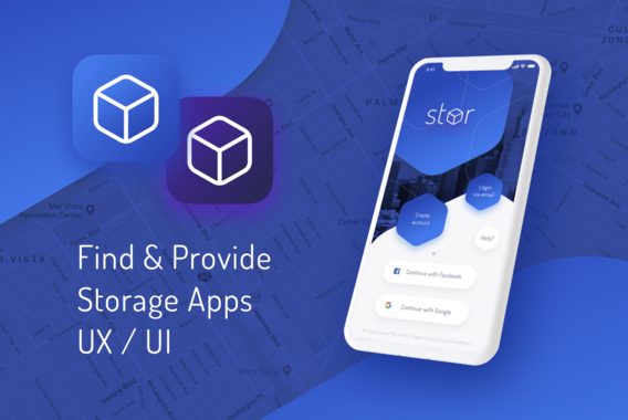 Stor | Mobile App UX/UI Design and Branding