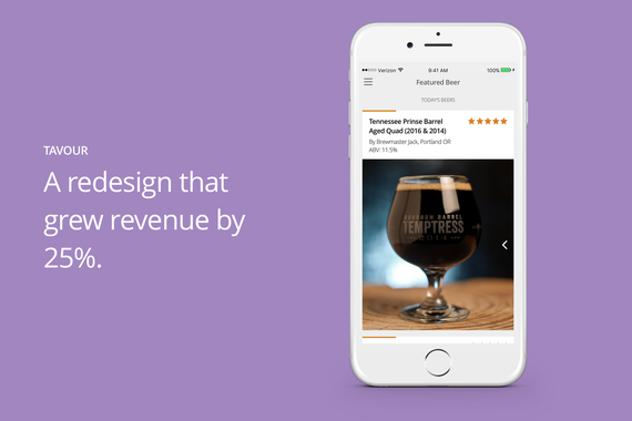 Mobile app Redesign That Grew Revenue by 25%.