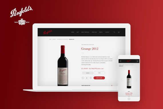 Penfolds: eCommerce Website and EDM Program