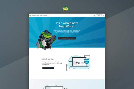SaaS Product Website Redesign Proof-of-Concept