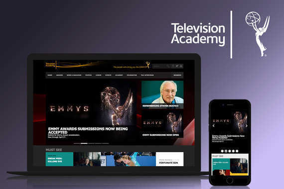 Emmys.com   UX, Design, Creative Direction