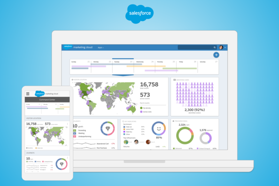 Salesforce.com Marketing Dashboard