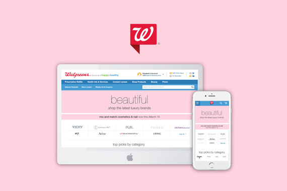 Walgreens Luxury Pages