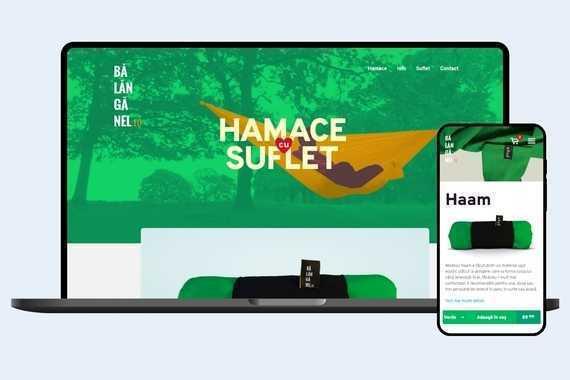 eCommerce Website for Hammock Company