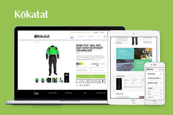 Kokatat Website Redesign