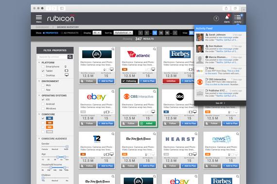Advertising Tech Platform (B2B) UX Design