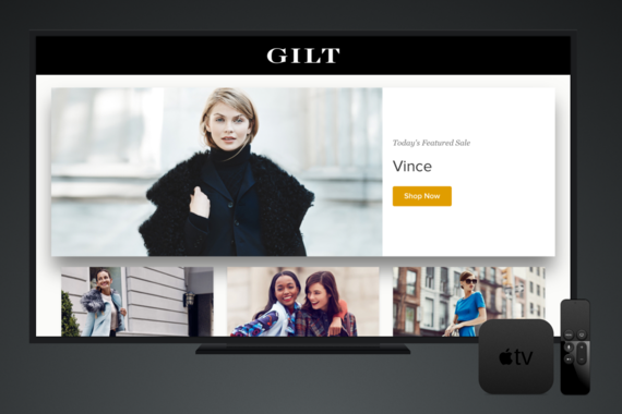 Gilt for AppleTV