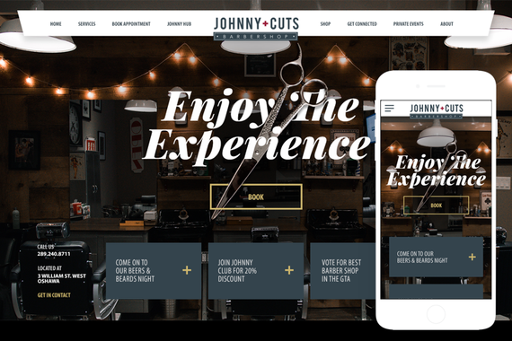 Johnny+Cuts Website