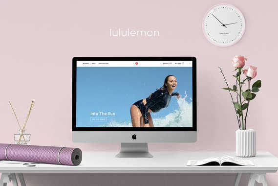 Lululemon | Redesign
