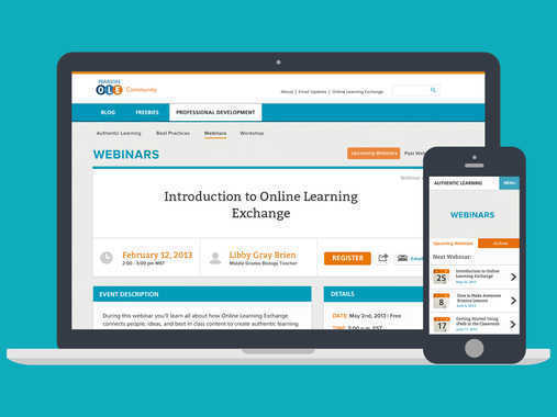 Pearson Online Learning Exchange Community