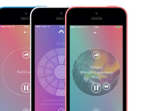 Capsule.fm iPhone and Apple Watch App
