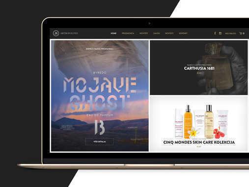 Metropoliten Website Redesign
