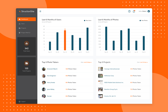 StructionSite Web App