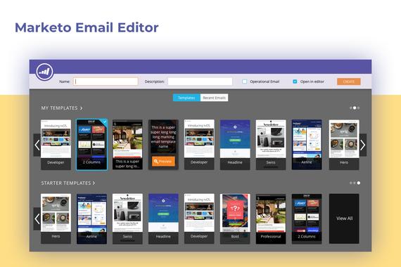 Marketo Email Editor