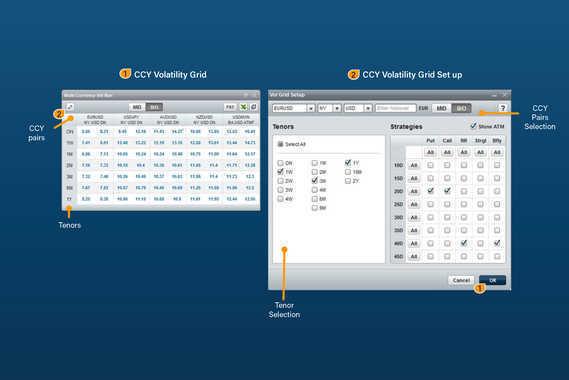 FX Trading | CCY Volatility Grid
