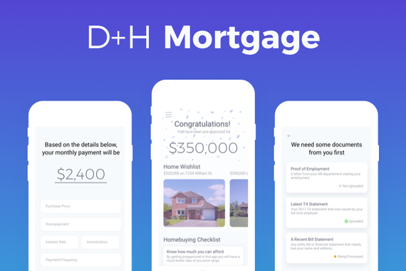 D+H Mortgage App