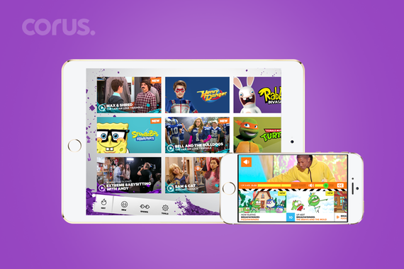 Corus | Multiple Video Apps for Kids