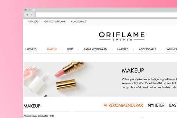 Beauty Destination for Oriflame
