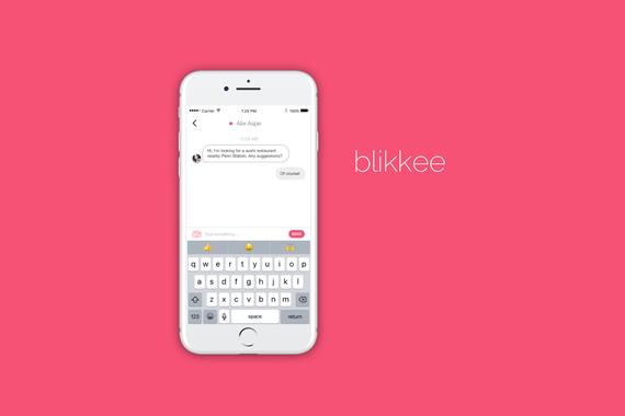 Blikkee Messaging App