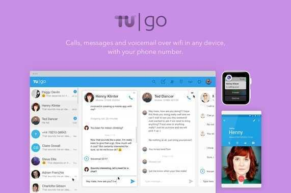 TU Go: Calls and Messages over WiFi in Any Device