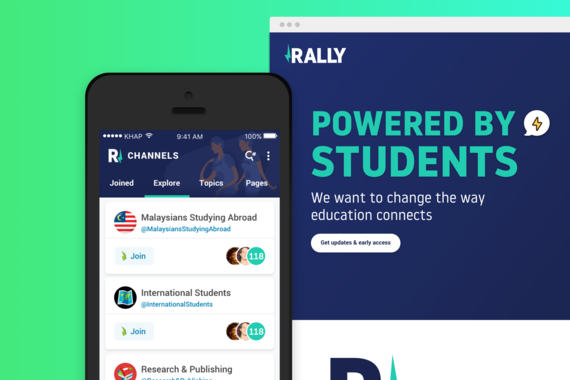 Rally Students, Social Network
