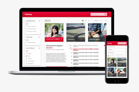 Online Education Portal - Course Catalog