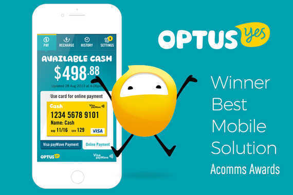 Optus Cash Mobile App