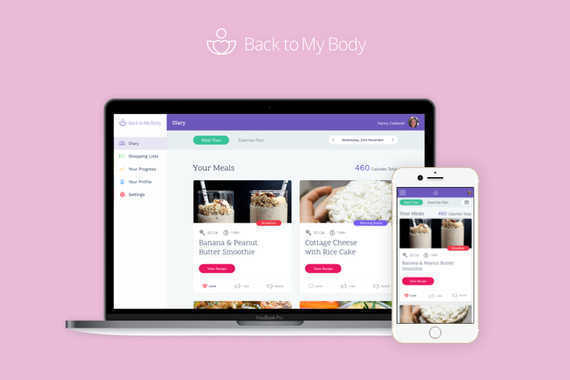 Back To My Body | Web App
