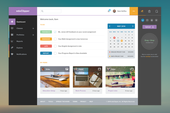 eduClipper Web App