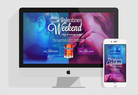 Durex – Valentine's Day Weekend Hub