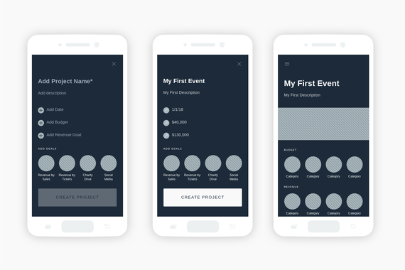 Event Organization App | Android Mobile