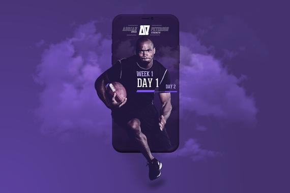 Adrian Peterson iPhone App  (NFL)