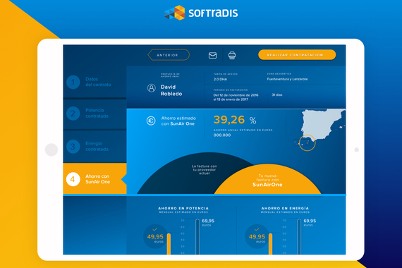 Softradis UX/UI and Visual Design/Brand Design