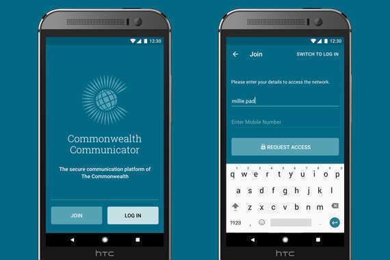 CNCP Communicator App