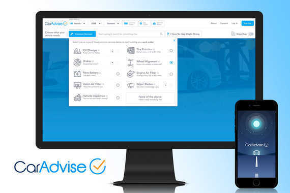 CarAdvise Responsive Web Application | UX/UI Design