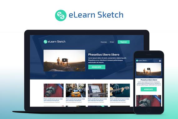 eLearn Sketch | Multi-Purpose Sketch Template