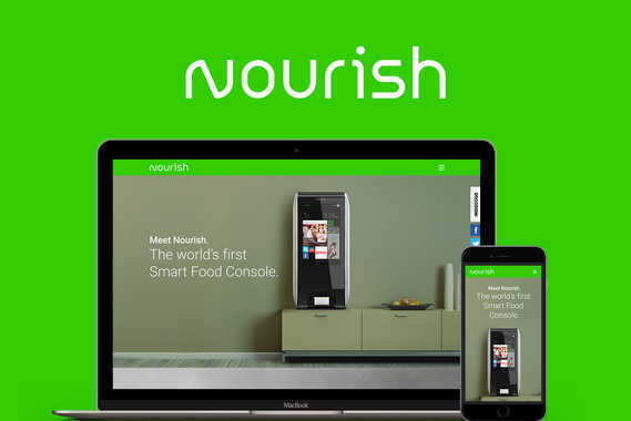 Nourish - Website