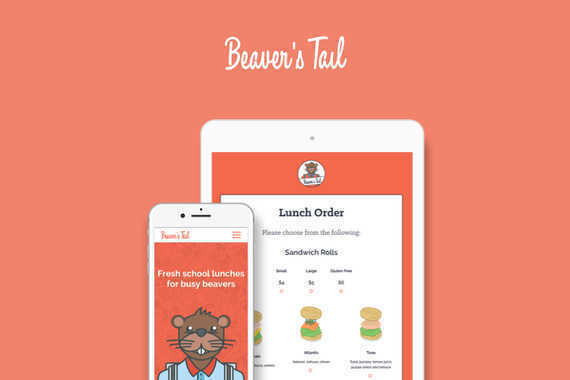 Beaver's Tail | Healthy Lunches Web App