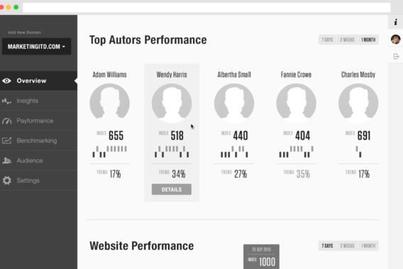 Web Analytics Platform for Data-Driven Evaluation