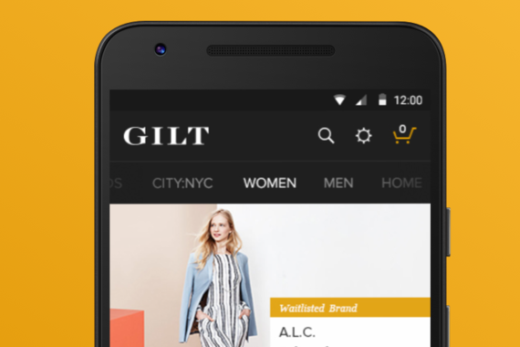 Gilt for Android